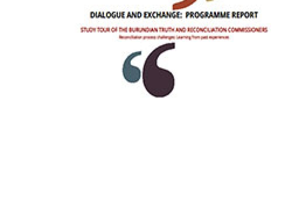 Study Tour of the Burundian TRC