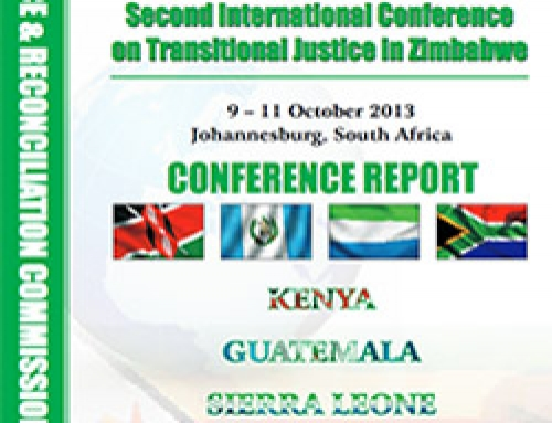 Second International Conference on Transitional Justice in Zimbabwe
