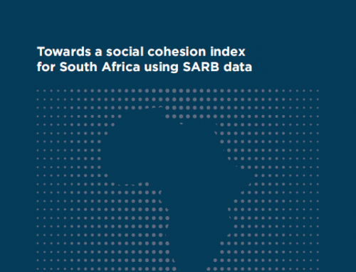 Press Release: Reconciliation and Development Working Paper Series – Towards a social cohesion index for South Africa using SARB data
