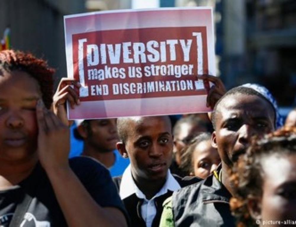 White South Africans Conveniently Ignore Racism