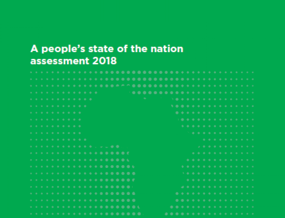 A People's State of the Nation Assessment 2018