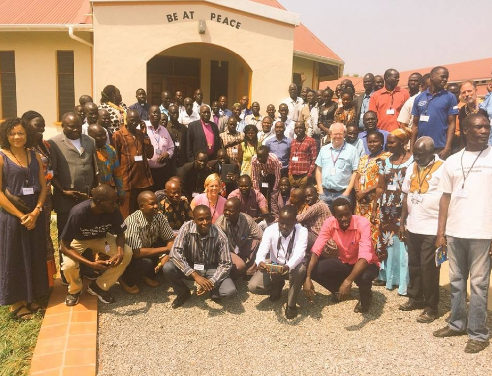IJR team training 250 community peace workers in South Sudan