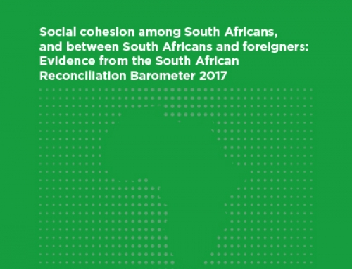 Social cohesion among South Africans, and between South Africans and foreigners