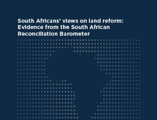 South Africans' views on land reform: Evidence from the South African Reconciliation Barometer