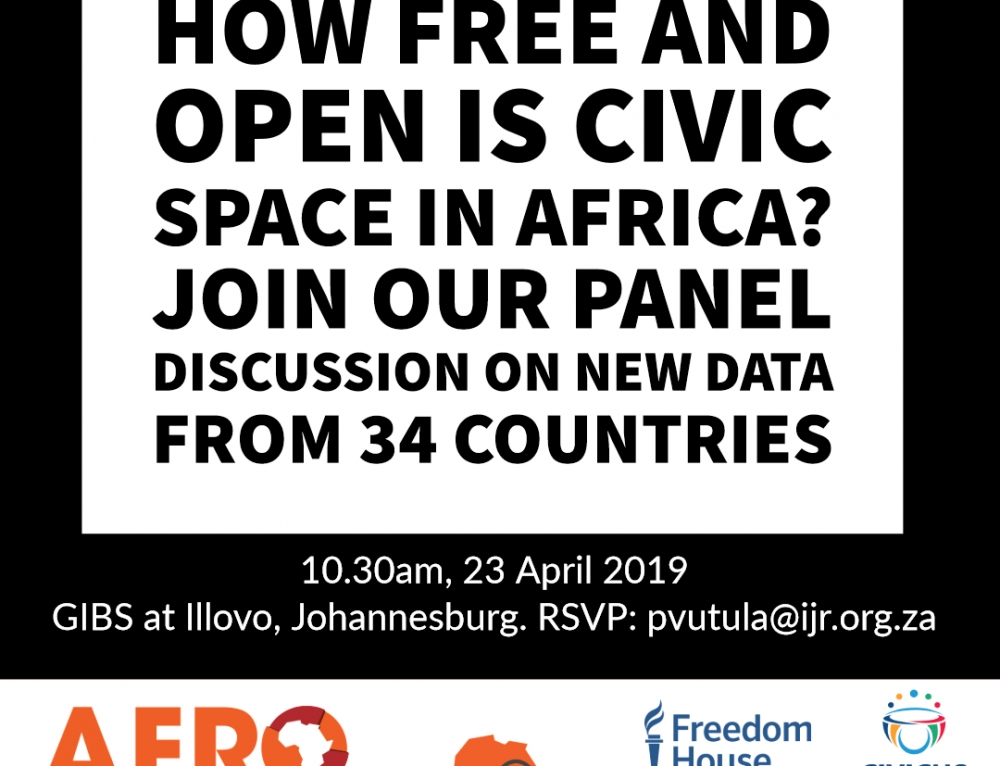 Afrobarometer Pan-Africa Profile release: New data on freedom and civic space from 34 countries