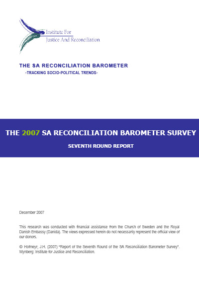 SARB Report 2007 – 7th Round Media Briefing