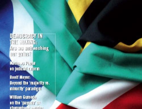 SA Reconciliation Barometer, Volume 5 Issue 1