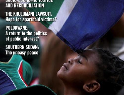 SA Reconciliation Barometer, Volume 5 Issue 4