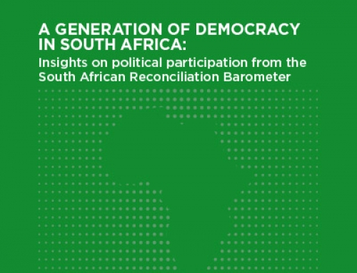 A Generation of Democracy in South Africa