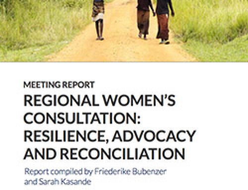 Regional Women's Consultation: Resilience, advocacy and reconciliation