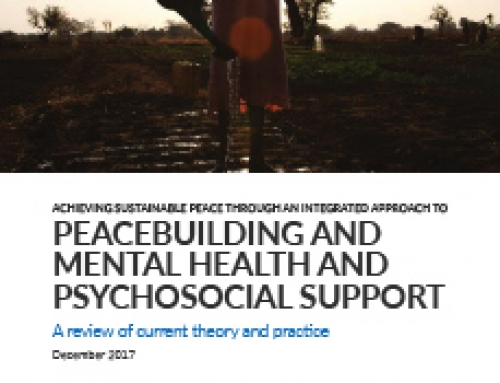 Achieving Sustainable Peace through an Integrated Approach to Peacebuilding and Mental Health and Psychosocial Support