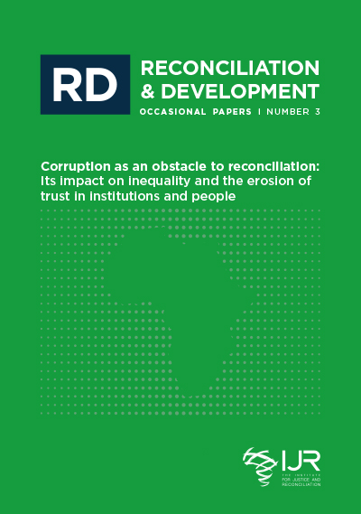 Corruption as an obstacle to reconciliation