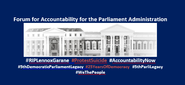 Forum for Accountability for the Parliament Administration