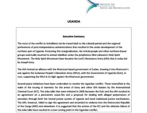 IJR Uganda Country Profile
