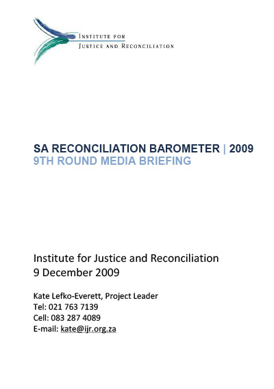 SARB Report 2009