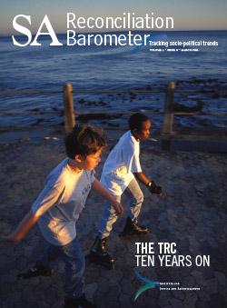 SA Reconciliation Barometer, Volume 4 Issue 1