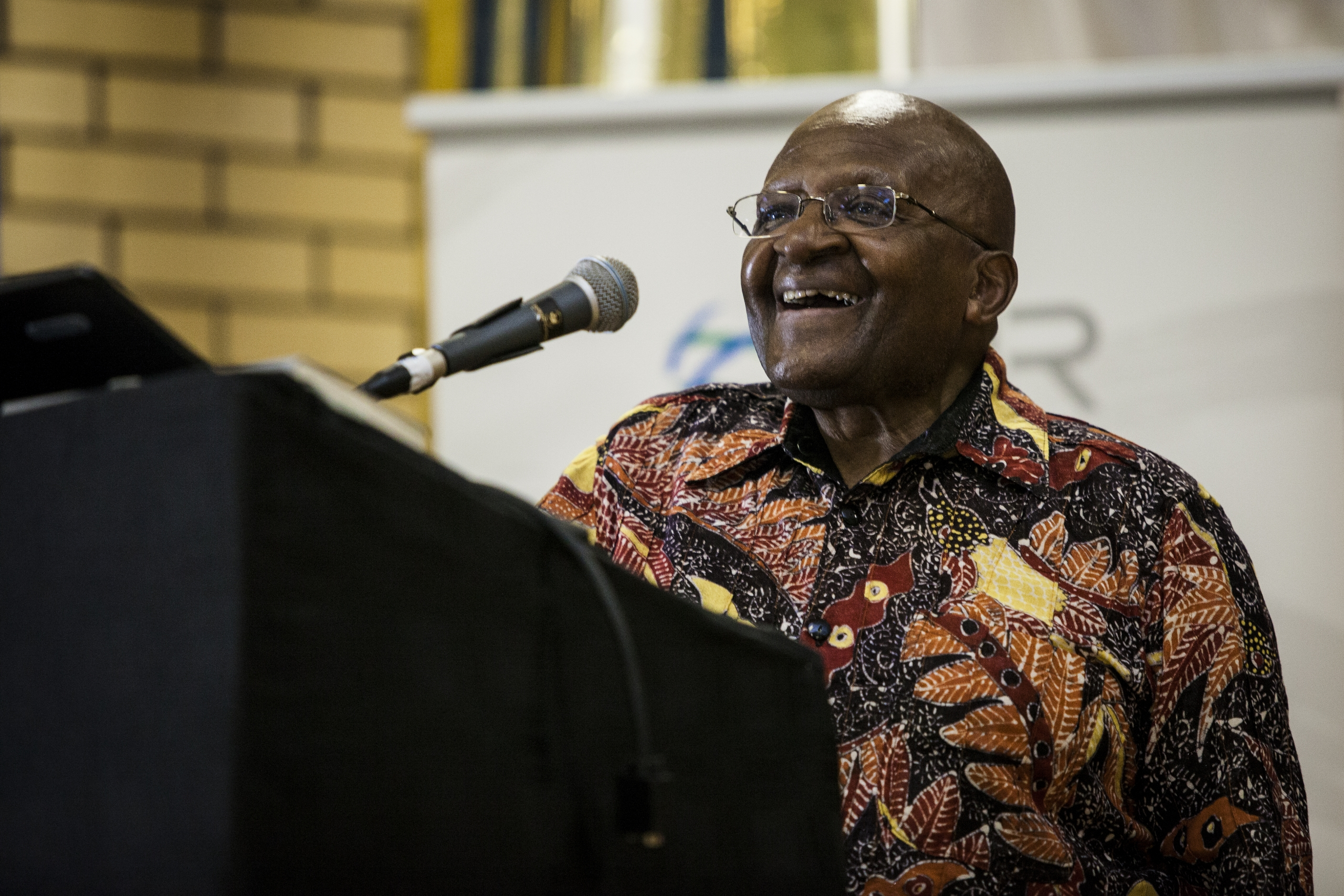 THE IJR STAFF WISHES ARCHBISHOP DESMOND TUTU A SPEEDY RECOVERY