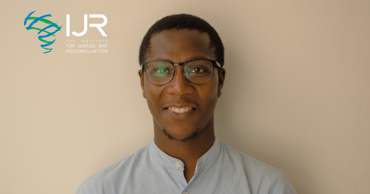 The IJR, welcomes Malibongwe Nkunkuma as their Fundraising Assistant