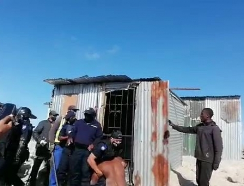 SA is a country of two nations – and evictions lay bare its injustices