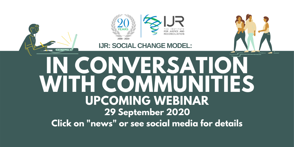 Upcoming Webinar: In Conversation With Communities Episode 3