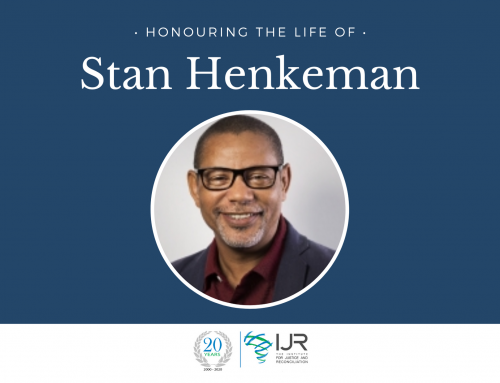IJR's Executive Director Stan Henkeman has Passed