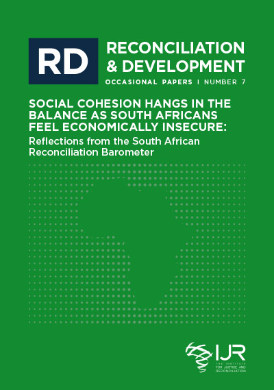 Generation of Democracy in South Africa: SARB Occasional Paper 7