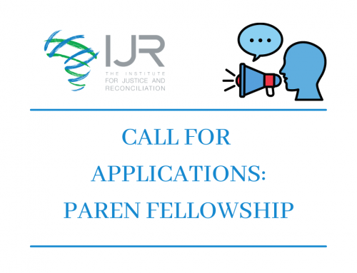 CALL FOR APPLICATIONS: PAREN FELLOWSHIP PROGRAMME
