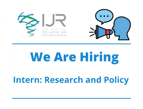 IJR Research and Policy Internship