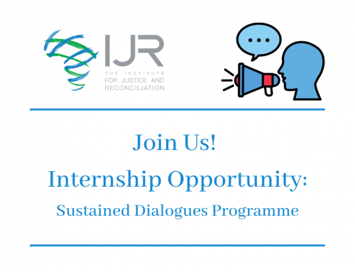 Internship Opportunity: Sustained Dialogue Programme