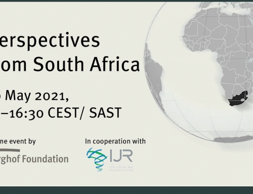 Invitation: Conflict Transformation in a Multipolar World: Perspectives from South Africa | 10 May15:00 CET/SAST