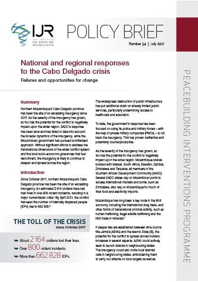 IJR Policy Brief 34
