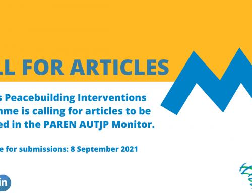 PAREN AUTJP Monitor Call for Articles